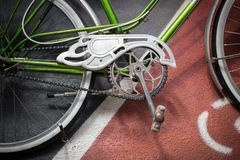 自行车详细资料射击工作室 图库摄影