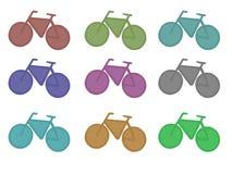 自行车象征 库存照片