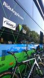 自行车赛游览de Pologne在琴斯托霍瓦市 库存照片