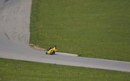 自行车赛跑的体育运动 免版税库存图片