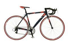 自行车赛跑的速度 免版税库存图片