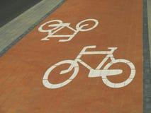 自行车赛车道 库存图片
