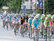 自行车赛 免版税库存照片