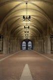 自行车走廊通过Rijksmuseum 免版税库存图片