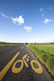 自行车路 免版税库存图片