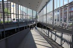自行车车库在市芒斯特 免版税库存照片