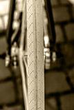 自行车车轮。细节18 免版税库存照片