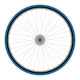 自行车车轮 免版税库存照片