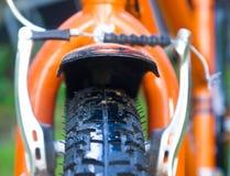 自行车车轮 图库摄影