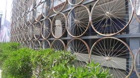 自行车轮子 免版税库存图片