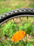 自行车轮胎 库存照片