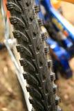 自行车轮胎 库存图片
