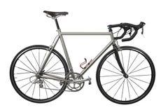 自行车轻量级选手种族 图库摄影