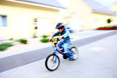 自行车速度 免版税图库摄影