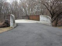 自行车道路和桥梁 库存照片