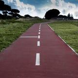 自行车道路 免版税库存图片