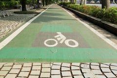 自行车道路 库存照片