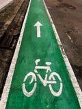 自行车道 库存照片