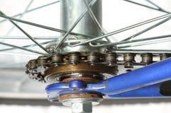 自行车链子 免版税库存照片
