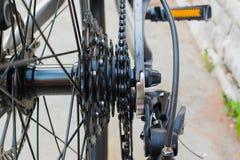 自行车链子 库存图片