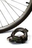 自行车锁定 免版税库存图片