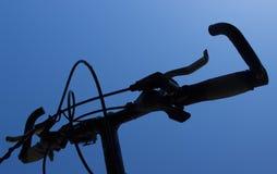 自行车闸和把柄第3部分的细节 免版税库存照片