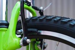 自行车闸 免版税图库摄影