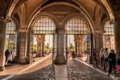 自行车隧道, Rijksmuseum阿姆斯特丹 免版税库存照片