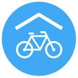 自行车风雨棚象 向量例证