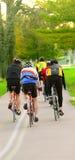 自行车骑士 图库摄影