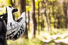 自行车骑马概念 免版税图库摄影