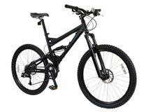 自行车黑色 免版税图库摄影
