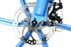 自行车水力盘式制动器,被隔绝 免版税库存图片