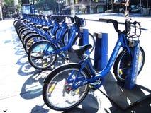 自行车份额墨尔本,澳大利亚 免版税库存照片