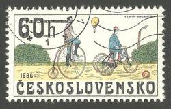 自行车1886 免版税库存图片