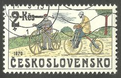 自行车1870 库存照片