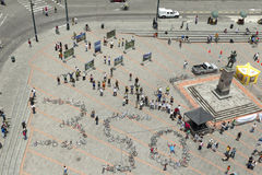 350自行车 免版税图库摄影