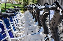 自行车Bokeh的细节 免版税库存照片