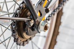 自行车gearweel 免版税库存图片