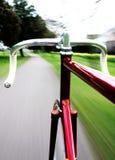 自行车pista 免版税图库摄影