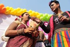 自豪感3月在孟买 库存照片