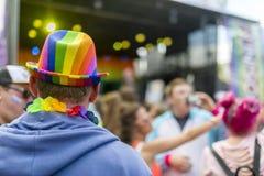 自豪感LGBT节日 免版税库存照片