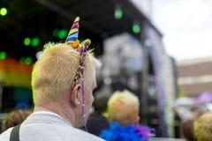 自豪感LGBT节日 库存照片