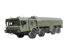 自走发射器操作作战导弹复合体 图库摄影