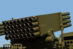 自走火箭发射器 免版税库存图片