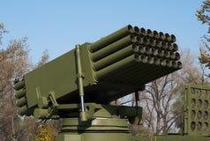 自走火箭队发射器3 库存图片