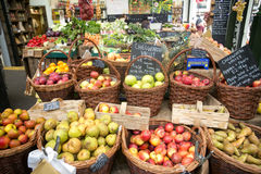 自治市镇市场伦敦 免版税库存照片