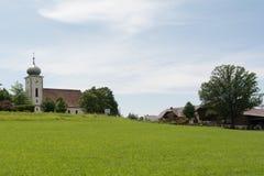 自治市Klaffer上午Hochficht -奥地利 免版税库存图片