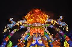 自贡灯节 免版税图库摄影