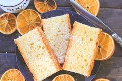 臭橙松糕 库存图片